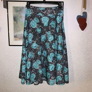 Agnes & Dora Vintage Midi Skirt w/pockets